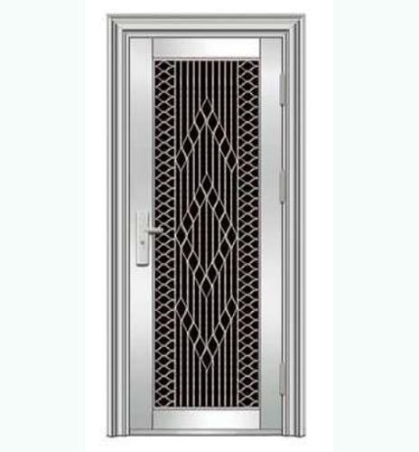 Simple Design Single Stainless Steel Door And Frame