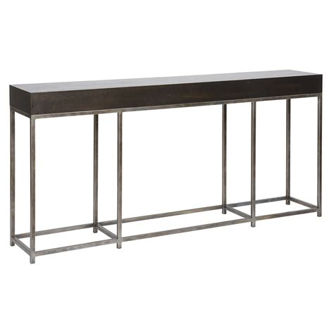 Jooy Living Weston Console Table max console table weathered shingle luxe home company