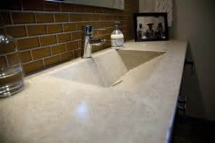 kitchen sleek polished concrete for countertop ideas