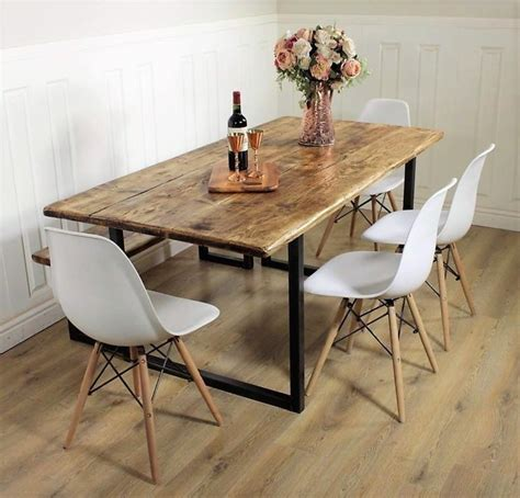 industrial kitchen table furniture best 25 industrial dining tables ideas on pinterest