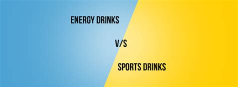 1 energy drink a week energy drinks vs sports drinks what s best for you