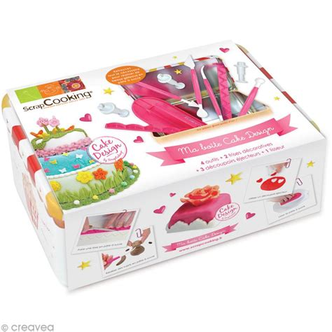 kit de cuisine enfant kit cuisine cr 233 ative ma bo 238 te cake design coffret