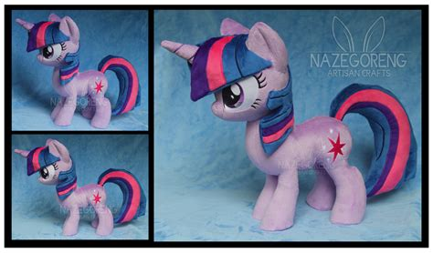 custom stuffed animals twilight sparkle custom plush by nazegoreng on deviantart