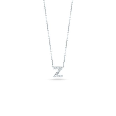 love images of letter z gifts love letter z pendant with diamonds roberto coin