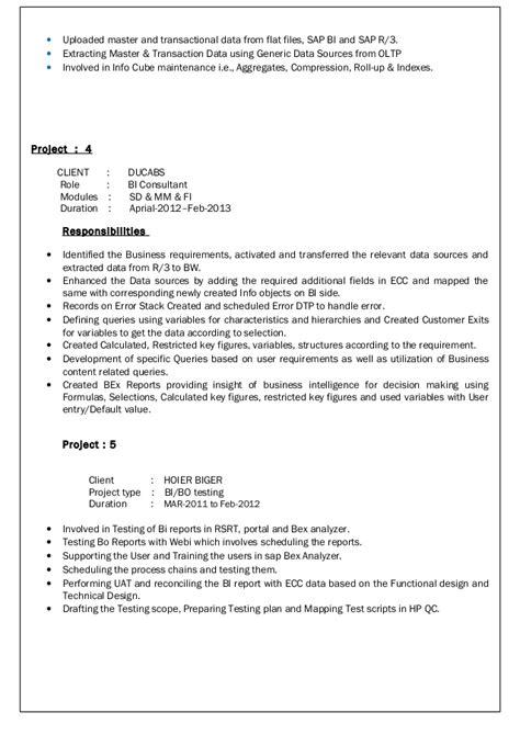 sap isu resume resume ideas