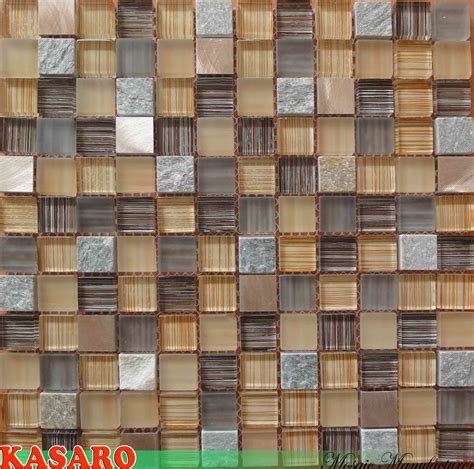 Decorative Wall Tiles by China Painted Tile Glass And Stainless Steel