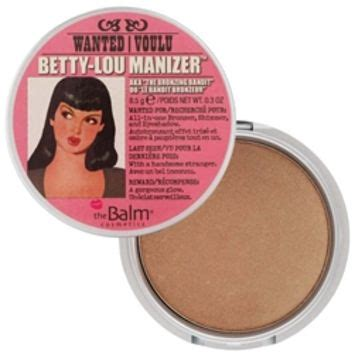 The Balm Lou Lou Betty Lou the balm betty lou manizer luminizer from brigettesboutique