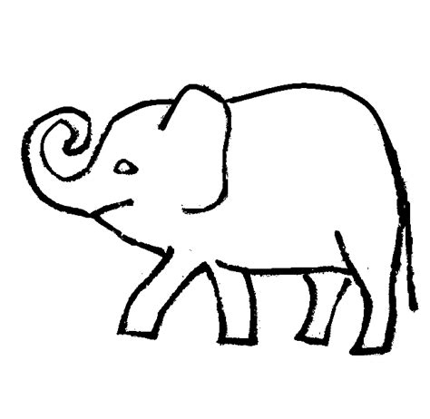 realistic elephant coloring page elephant coloring pictures cartoon and realistic