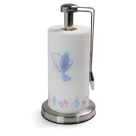Kitchen Paper Towel Holder free shipping home basice scroll paper towel holder