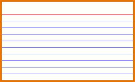 word index card template 3x5 note card template vertola