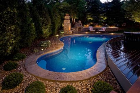 Backyard Swimming Pool Design And Installation Minneapolis Backyard Swimming Pool