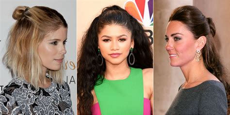 Half Up And Hairstyles by 13 Half Up Half Hairstyles Half Up Bun Hairstyle Trend