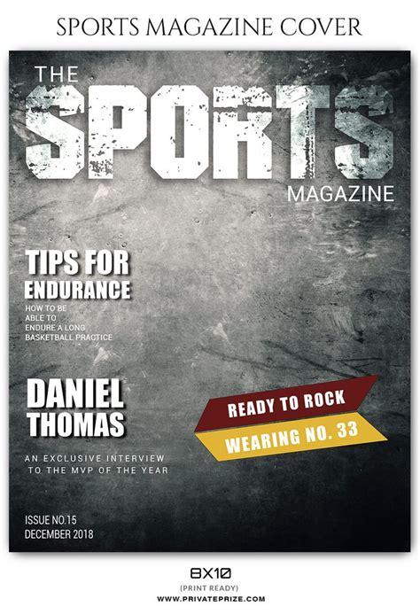 Daniel Thomas Basketball Sports Photography Magazine Cover Sports Magazine Template