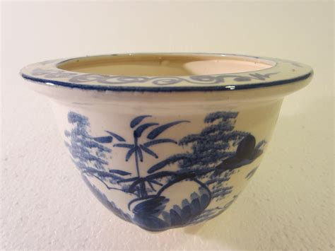Ceramic Planters For Sale Blue And White Transfer Ceramic Planters Bowls Asian