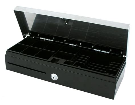 Vpos Drawer by Vpos Fliptop 6 Note 8 Coin 24v Blk Drawer