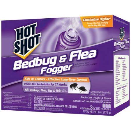 Walmart Bed Bugs by Bedbug Flea Fogger Insecticide 3 Count 6 Oz