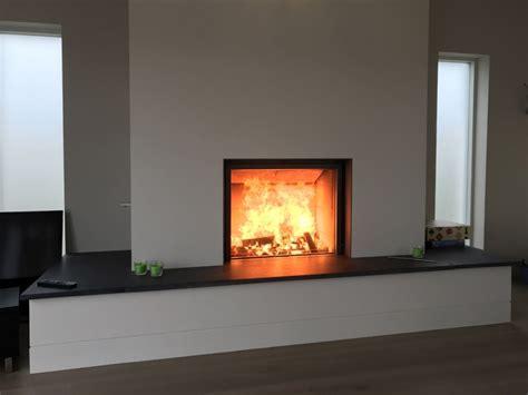 Stuv Fireplace by Stuv Woodburner In Bespoke Fireplace Wood Burning Stove