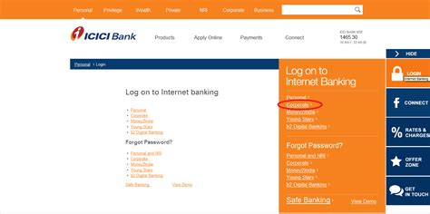 overview of icici bank icici bank credit card bill view statement without login