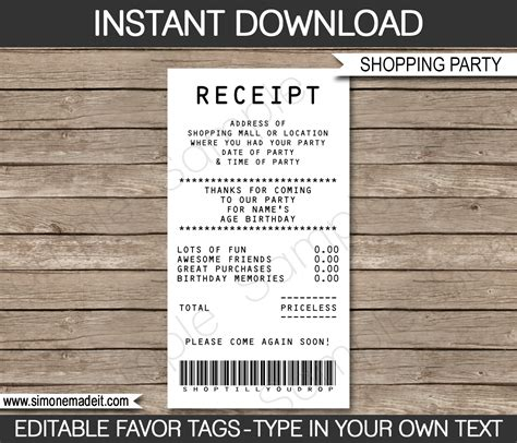 editable credit card template credit card invitation mall scavenger hunt invitations
