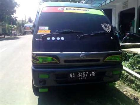 Stiker Pelindung Cat Mobil Modifikasi Mobil Zebra Daihatsu Zebra Modifikasi Lu