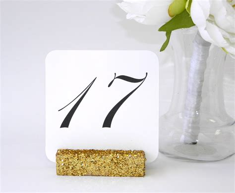 wedding table number size wedding table number holders gold from gallery360designs com