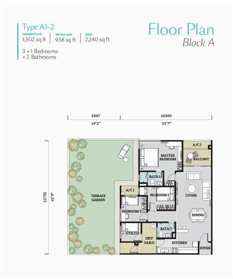 floorplan for my house fortune perdana