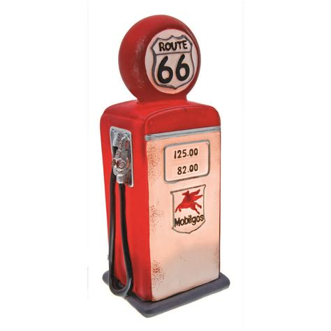 novelty home decor route 66 fuel bowser table l car novelty light
