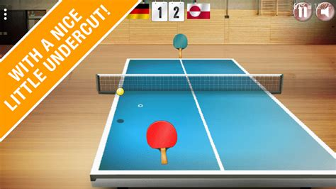 table tennis and ping pong table tennis tour the 3d ping pong android