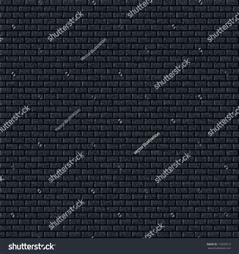 background pattern noise seamless texture brick wall pattern dark stock vector