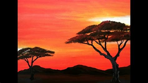 acrylic paint johannesburg painting trees acrylic painting for beginners