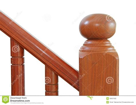 Banister Decor Wooden Stairs And Handrail Stock Photo Image Of Decor