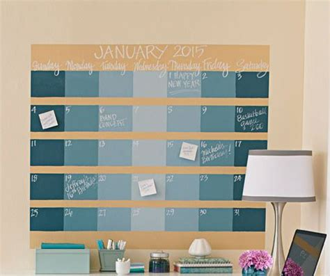 make a wall calendar best 25 chalkboard wall calendars ideas on