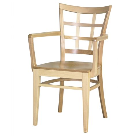 Wooden Arm Chair by 7045 1 Wood Arm Chair