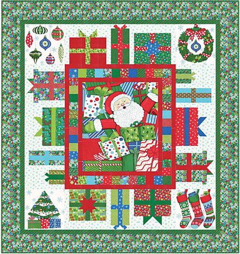 Moda Fabric Quilt Patterns by Ho Ho Ho Quilt Kit Beautiful Moda Fabric By Deb Strain
