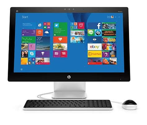 latest hp pavilion all in one will come with edge to edge