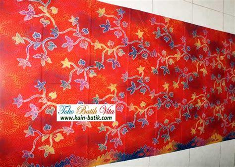 Pancawarna Cerah batik madura kbm 5293 kain batik murah