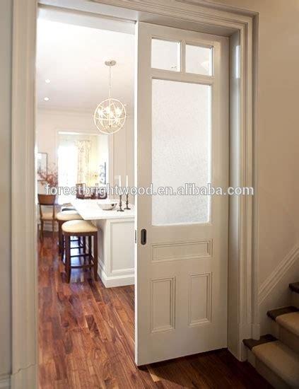 Dining Room Double Interior Pocket Door With Frosted Glass Interior Pocket Doors With Glass