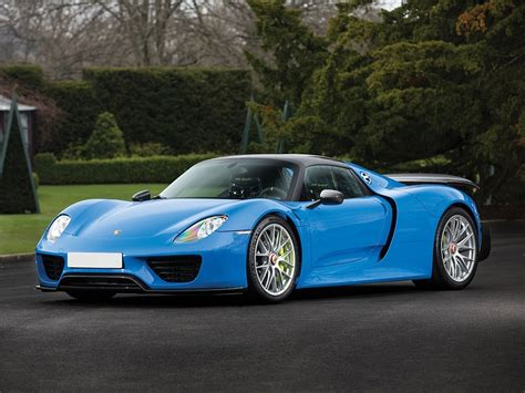 Porsche 918s by World S Only Arrow Blue Porsche 918 Spyder Heads To