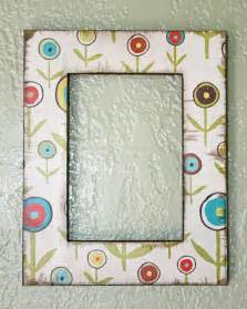 How To Decorate Picture Frames Using Paper To Decorate A Frame Stacy Risenmay