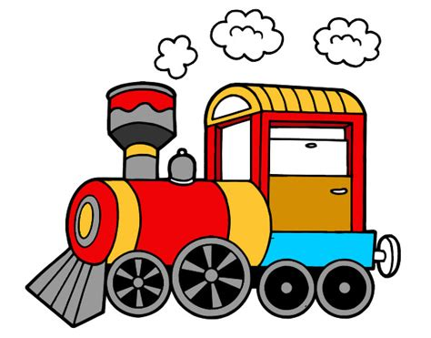 Imagenes Infantiles Tren | dibujo tren a color buscar con google trens