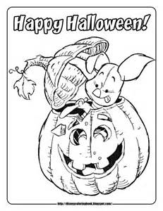 pooh friends halloween 2 free disney halloween coloring pages team colors