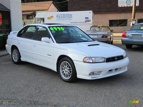 subaru legacy white 1998 glacier white subaru legacy gt limited sedan