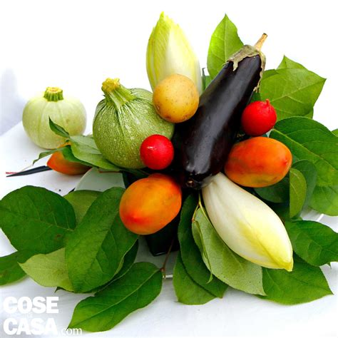 e fiori il centrotavola con ortaggi e fiori cose di casa