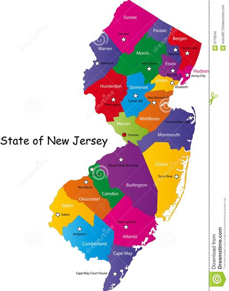 a to z the usa new jersey state flower state of new jersey stock photo image 9178540