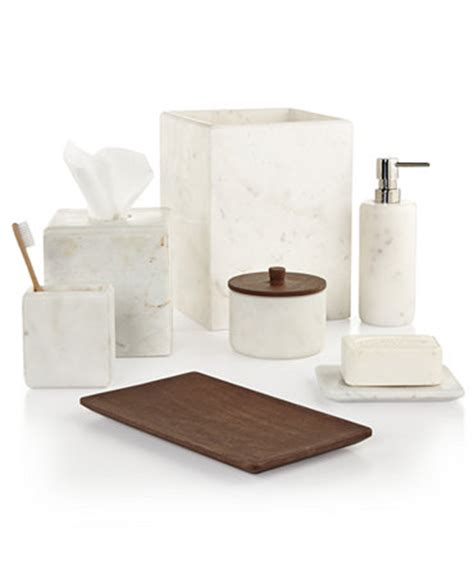 hotel collection marble bath accessories only at macy s