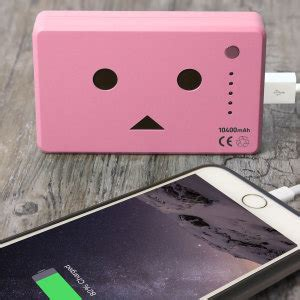 Power Bank Robot Smart Power robot power bank portable charger 10 050mah pink