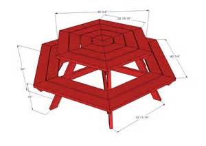Octagon Patio Table Plans Octagon Picnic Table Plans Free Walk 187 Plansdownload