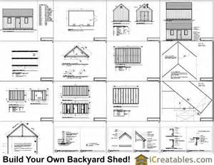 Free 12x16 Shed Plans With Material List » Home Design 2017