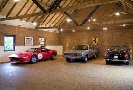 garage oldtimer gira referenzen hightech garage