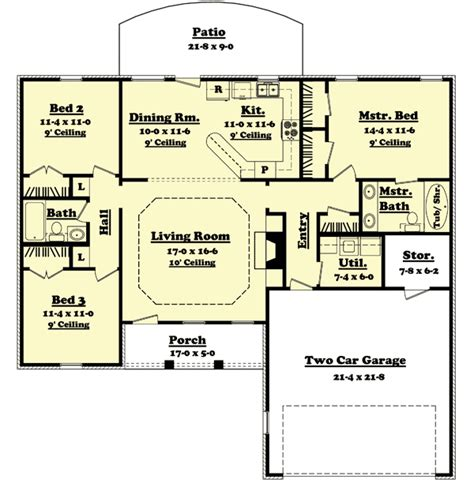 ranch split bedroom floor plans split floor plan ranch 28 images split bedroom ranch